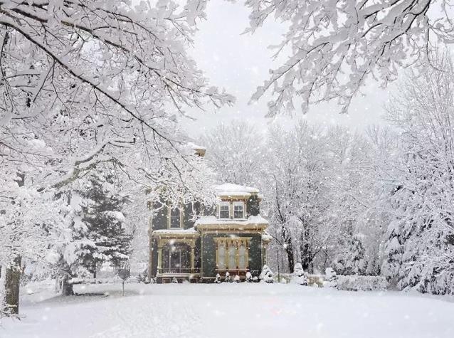 آموزش ایجاد برف در فتوشاپ